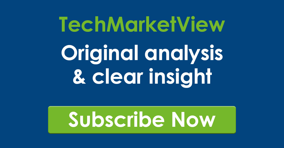 TechMarketView Subscribe Now