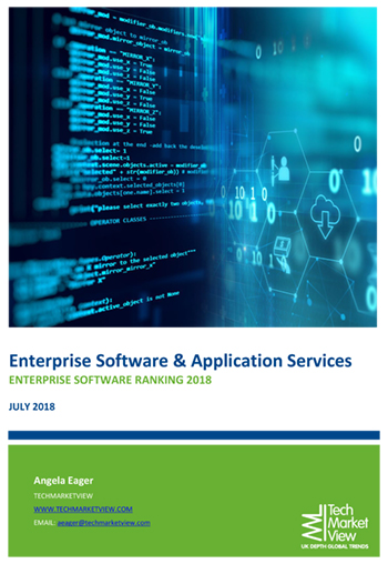 Enterprise Software UK Supplier Rankings Report 2018