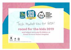 GOSH RBC Race for the Kids Certificate