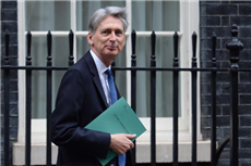 Philip Hammond with autumn statement