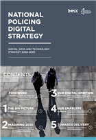 National Policing Digital Strategy cover