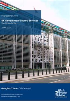 UK Government Shared Services Report Cover