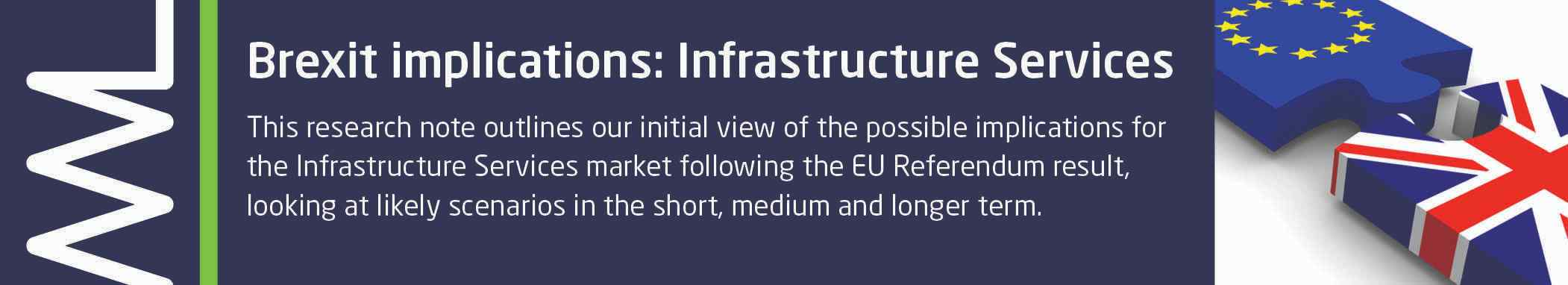 Brexit implications for Infrastructure Services