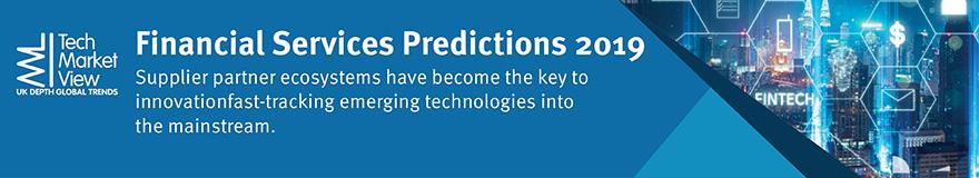Financial Services Predictions 2019