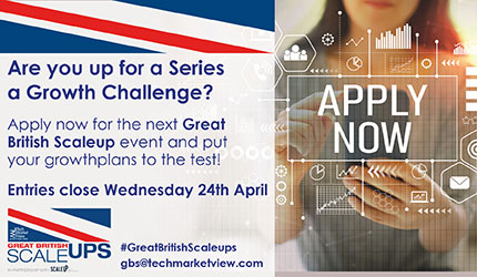 Great British ScaleUps 6 Apply Now