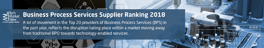 Business Process Services Supplier Rankings Report 2018