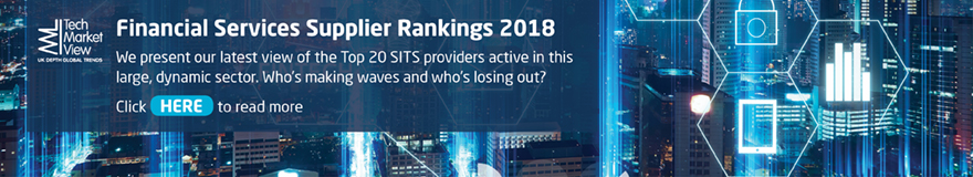 Financial Services Supplier Rankings Report 2018
