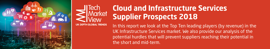 Cloud and Infrastructure Services Supplier Prospects 2018
