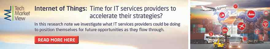 Internet of Things: Time for IT services providers to accelerate their strategies