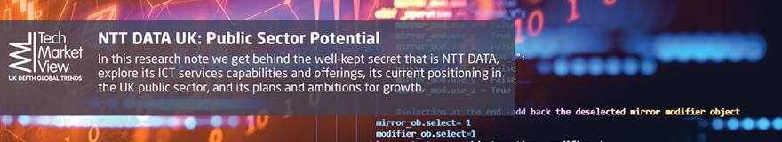 NTT Data UK - Public Sector Potential