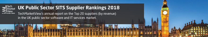 UK Public Sector SITS Supplier Rankings Report 2018