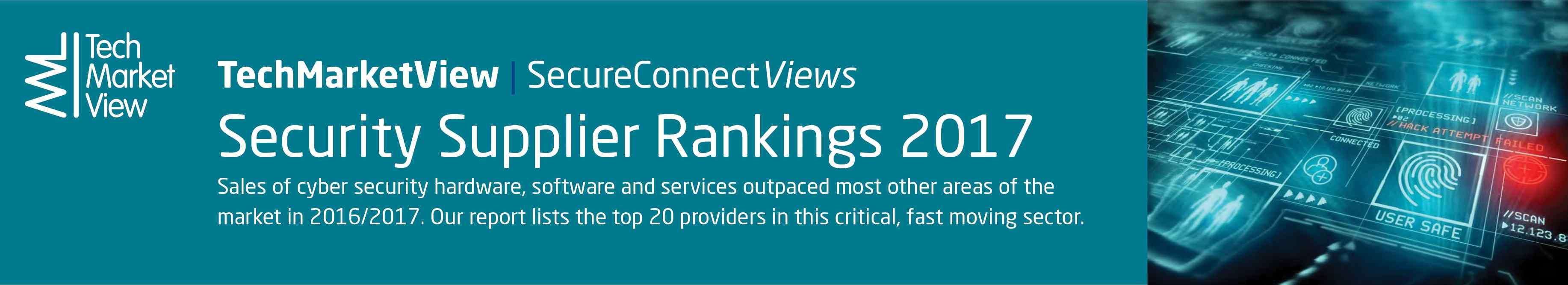Security Infrastructure Supplier Rankings 2017